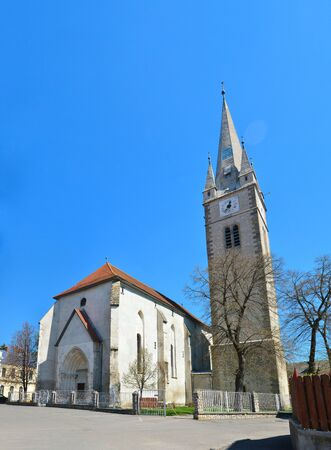turda: Turda town Romania Calvinist Reformed Church architecture