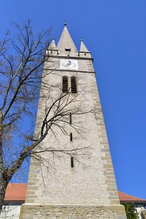 turda: Turda town Romania Calvinist Reformed Church tower