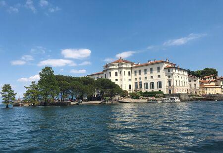 ベッラ島イタリア ボッロメオ宮殿画期的なアーキテクチャ 報道画像