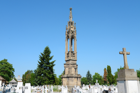 Timisoara city Romania Column of Fidelity memorial monument