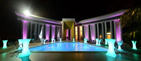 Timisoara city Romania Galla luxury event hall architecture