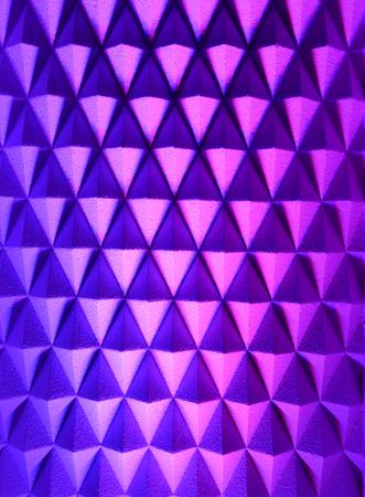 Diamond shape decoration mauve and purple light Stock Photo