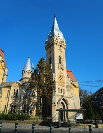 Timisoara city romania Piarist monks order landmark architecture