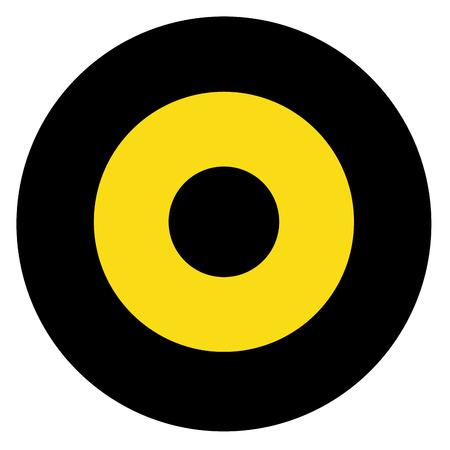 Guyana country roundel flag based round symbol