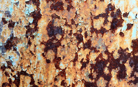 Old grunge rusty metal sheet texture
