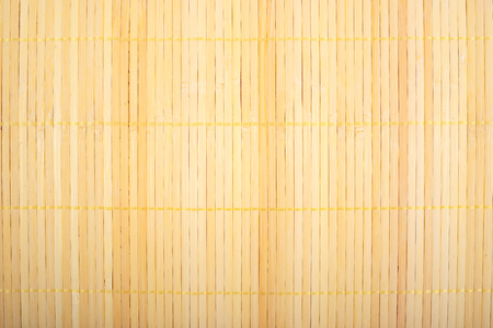 Bamboo fiber mat texture  organic pattern Stock Photo