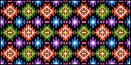 Romania traditional folk ethnic motifs rug design