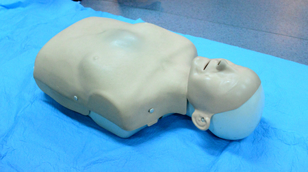 Healthcare training medical dummy first aid resuscitation