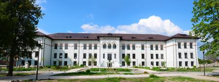 Drobeta turnu severin city romania Iron Gates museum landmark architecture Editorial