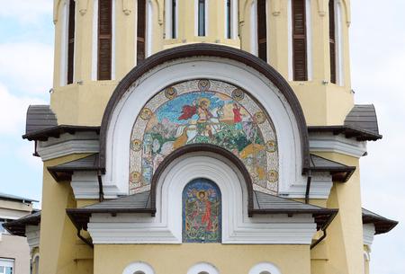 Drobeta turnu severin city romania saint george church landmark architecture detail