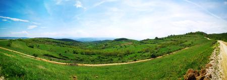 Alba Iulia Romania surroundings nature landscape panorama Banco de Imagens