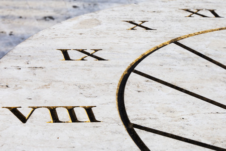 sundial: sundial Stock Photo