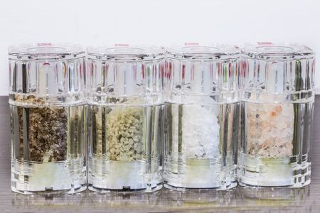 salts: salts from the world Stock Photo