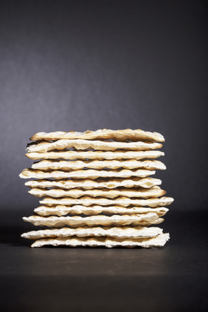 unleavened: unleavened crackers