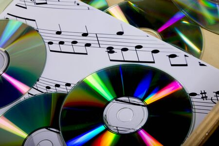 sheet music: cd and sheet music
