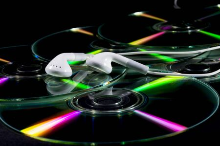 listened: cd and earphones