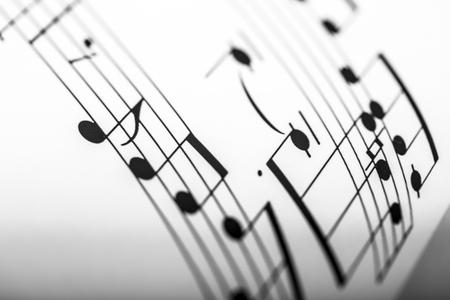listened: sheet music