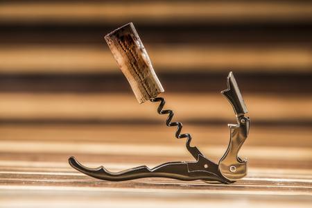 the opener: opener bottle and cork