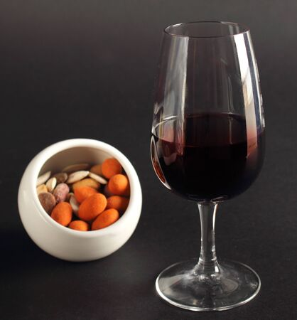 Classy glass of red wine Stock Photo - 11125603