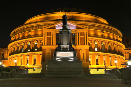 Royal Albert Hall at night Stock Photo - 1490482