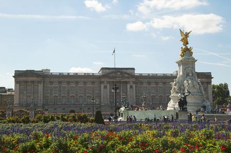 prince charles of england: Buckingham Palace Stock Photo