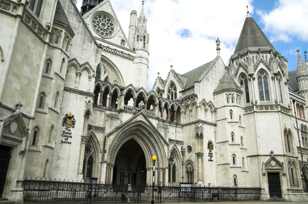 ancient prison: Royal Courts Of Justice,
