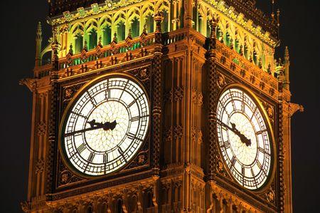 neo gothic: Big Ben, night shot