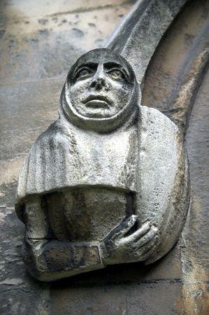 confessor: Gargoyle, Westminster Abbey, London Stock Photo
