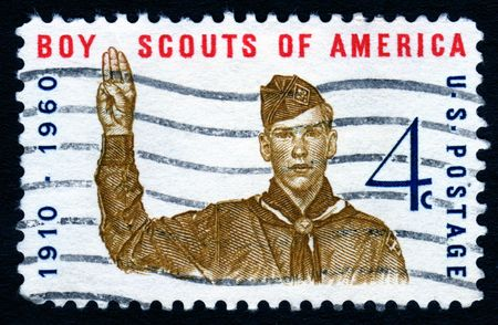 collectable: Vintage Boy Scouts Of America 4c postage stamp