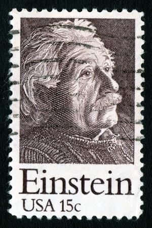 Vintage USA 15c Einstein Stamp