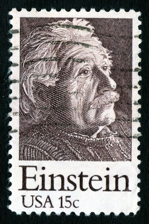 collectable: Vintage USA 15c Einstein Stamp