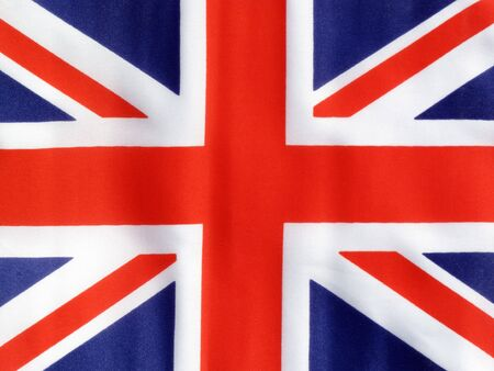 abstract london: Flag of the United Kingdom
