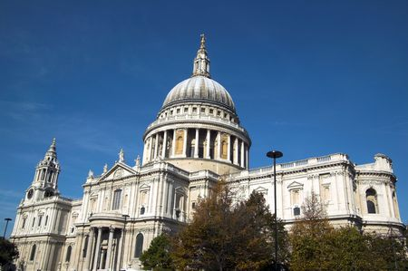foremost: St.Pauls Cathedral in London, built after The Great Fire Of London of 1666, is Christopher Wrens masterpiece and one of the foremost tourist attractions in London