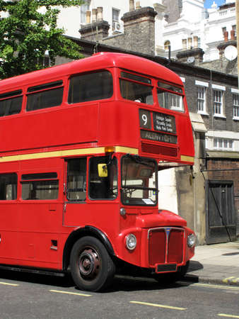 London Routemaster red double decker bus Stock Photo - 5032326