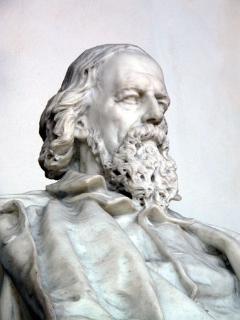 named person: Lord Alfred Tennyson Stock Photo