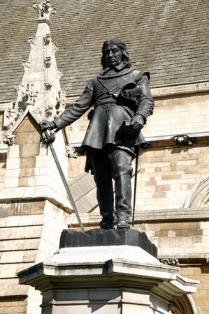 parliamentarian: Oliver Cromwell 1599-1658 became Lord Protector of Britain during the short lived republic after the English Civil War