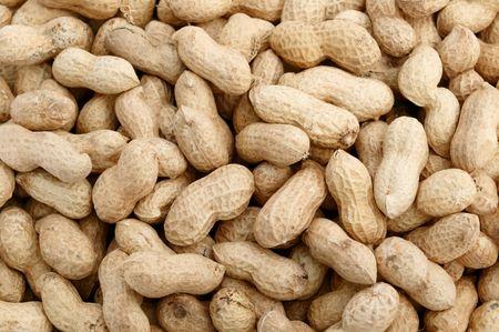 Peanuts background Stock Photo