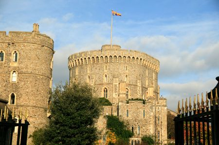 conqueror: Windsor Castle was built by William The Conqueror soon after his invasion of England in 1066 and is the favourite royal residence of Queen Elizabeth 11