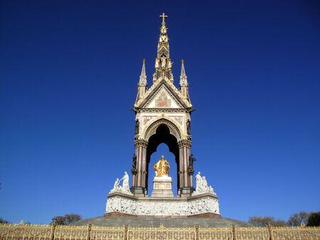 The Albert Memorial was built between 1863 and 1876 to commemorate the death of Queen Victoria�s beloved consort Prince Albert. photo