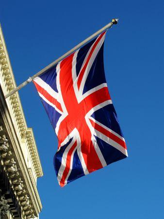 Union Jack flag of the United Kingdom Stock Photo - 5908849
