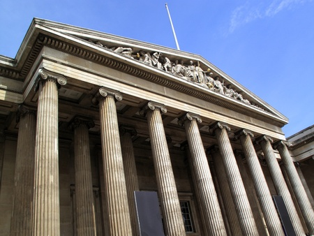 The British Museum based in London's Bloomsbury was established in 1753 and has more than 7 million objects of antiquity in its collection Stock Photo - 8689119
