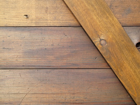 Close-up of wood panelling background photo
