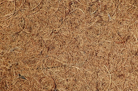 fibre: Close-up background of woven coconut coir matting