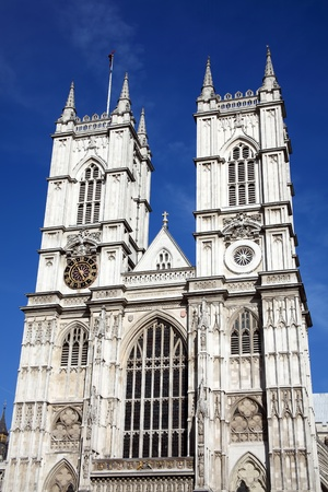 Westminster Abbey in Westminster, London, England, UK,  founded by Edward The Confessor in the 11th Century on the site of  an old Benedictine abbey dating from 750AD photo