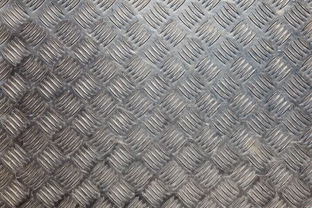 Aluminium Tread Plate metal background Stock Photo - 10864492