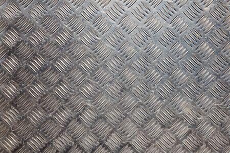 tread plate: Aluminium Tread Plate metal background Stock Photo