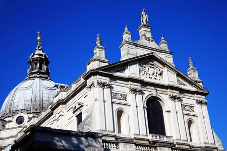 oratory: The Church of the Immaculate Heart of Mary commonly known as the Brompton Oratory is a Catholic church in Kensington, London, England, UK, having its foundation stone laid in 1880