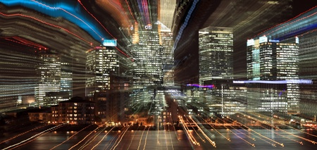 London, UK - October 20, 2011: Canary Wharf in London