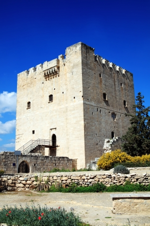 knights templar: Kolossi Castle, near Limassol, Cyprus, first built around 1210, was a stronghold of the Crusaders and its former occupants include the Knights Templar and the Knights of the Order of St John of Jerusalem  Hospitallers
