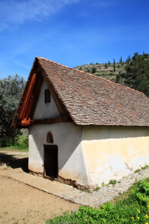 tou: Panagia tou Moutoulla  Our Lady of  Moutoulla  built in 1279-80 is the oldest of the Troodos Mountains painted churches